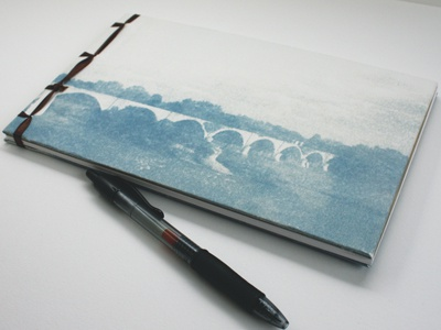 Blank Journal with Cyanotype Covers