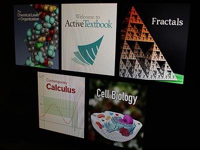 Sample ActiveTextbooks sample book covers textbooks