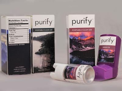 Purify - Portable Clean Air