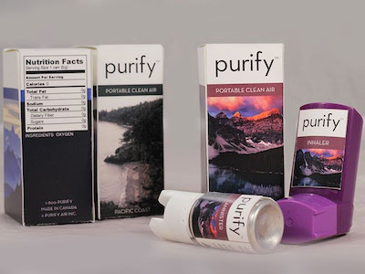 Purify - Portable Clean Air