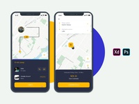 Interaction of Booking a Taxi!