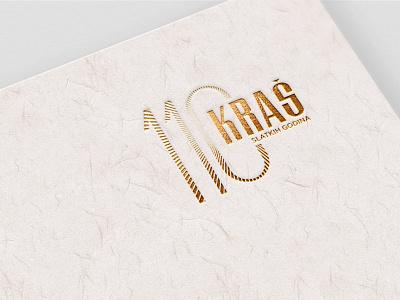 Kraš 110th anniversary logo with a slogan anniversary design logo graphic design creative direction branding art direction
