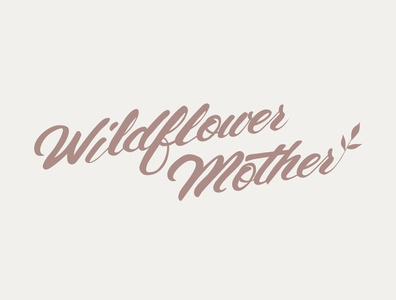 Wildflower Mother Logo