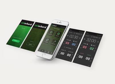 Lederbord App Design