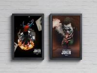 Joker Movie Poster design