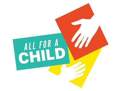 All For A Child Full Color Logo non-profit logo