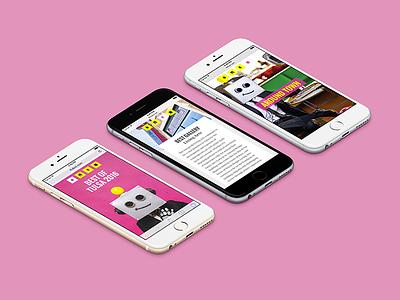 "2016 Tulsa Voice ""Best of Tulsa"" Awards Microsite (Mobile View) responsive web design microsite website tulsa"