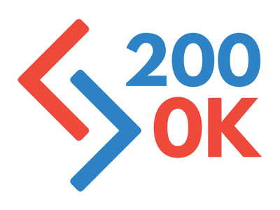 200ok Logo Refresh  200ok logo