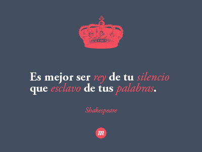 Palabras - Shakespeare-  monocromia design quotes typography font