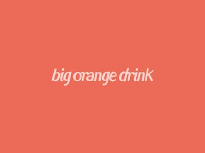 Big Orange Drink