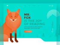 mr.fox.com Landing Page