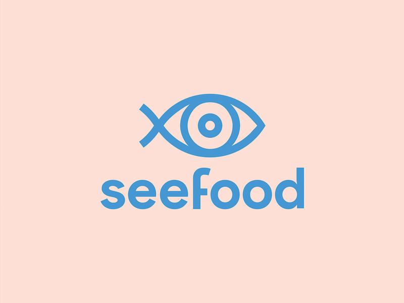 seefood identity brand identity minimalist illustration minimal icon branding vector logo typography design
