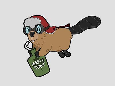 Beaver syrup canada beaver