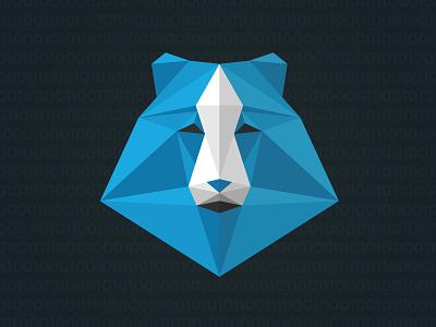 Project Kodiak illustration illustrator polygon bear kodiak vector shirt design