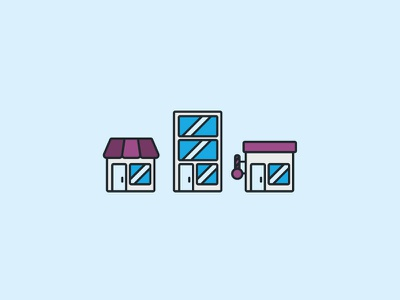 Store Icons icon supplier retailer stores