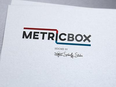 MetricBox Logo graphic design branding logo design logo