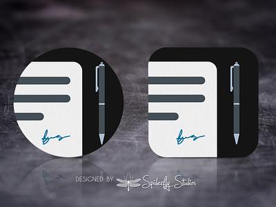 ProNote Launcher Icon app design launcher icon graphic design design app icon design app ux app ui app icon icon