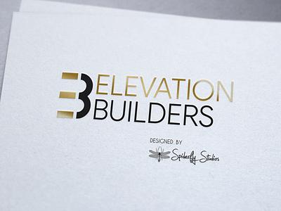 Elevation Builders Logo Design typography logo design logo design graphic design branding