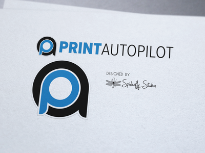 Print AutoPilot Logo Design app icon print design app icon design launcher icon icon design brand identity graphic design logo design branding design logo branding