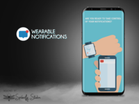 Wearable Notifications - Onboarding Screens