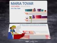Maria Tovar - Business Cards