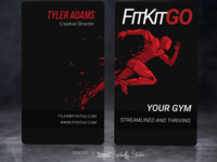 Fit Kit Go - Business Cards