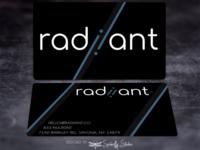 Radiiant - Business Cards