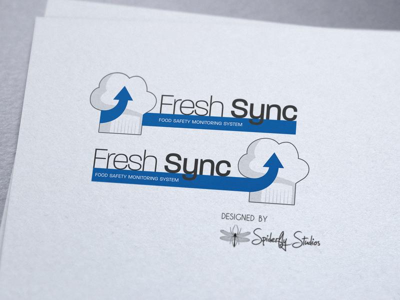 Fresh Sync - Logo Design graphic design logo logo design branding