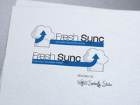 Fresh Sync - Logo Design