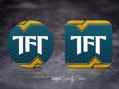 TFT Helper Launcher Icon icon design app icon design app ui app ux launcher icon app icon graphic design