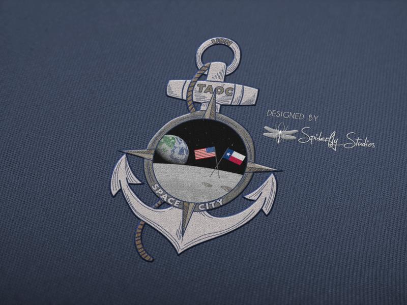 Space City Patch Concept patch patch design logo graphic design logo design print design branding