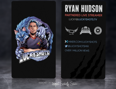LuckyShots Business Cards
