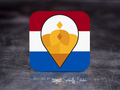 PostNL Shopify Labels - Launcher Icon icon design app icon design app icon app ui app ux graphic design launcher icon shipping labels postnl