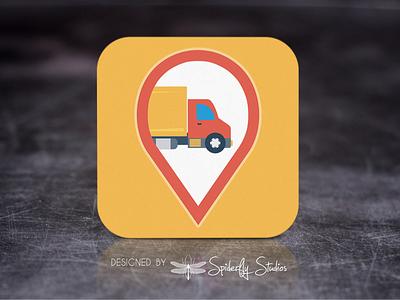 DHL Shopify Labels - Launcher Icon app design icon design app icon design launcher icon app icon app ui app ux graphic design