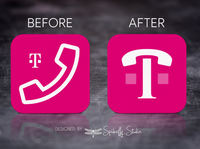 T-Mobile DIGITS Launcher Icon Update