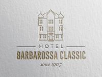 Logo Redesign for Hotel Barbarossa Classic