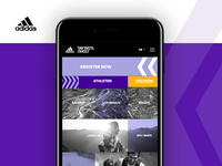 adidas INFINITE TRAILS Webdesign