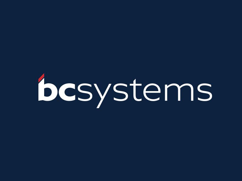 Bcsystems Rebrand typography logo corporate logo branding logo design logo