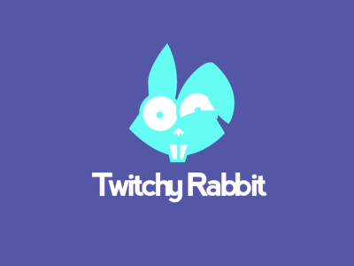 Twitchy Rabbit - Thirty Logo Challenge #3