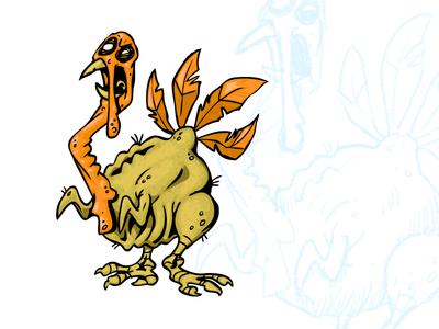 Zombie Turkey