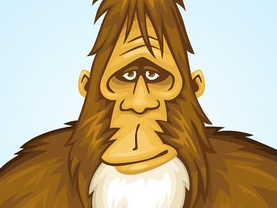 Kind Bigfoot vector bigfoot sasquatch
