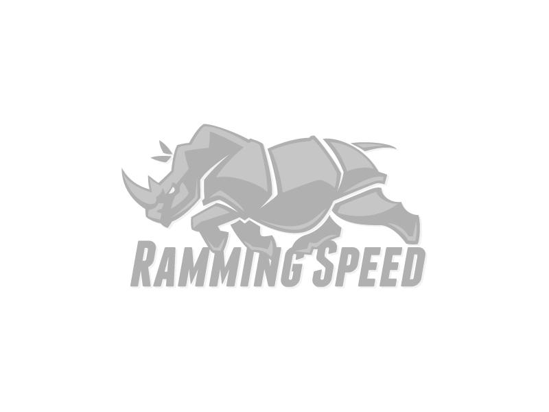 Ramming Speed rhino logo vector ramming speed running silhouette