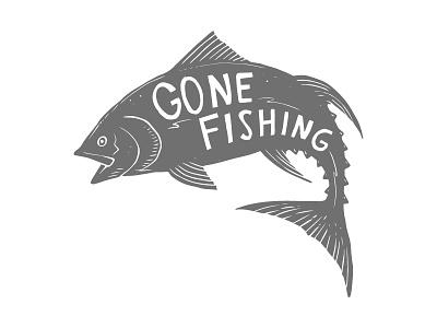 gone fishing tun tuna fish cartoon fishing gone fishing