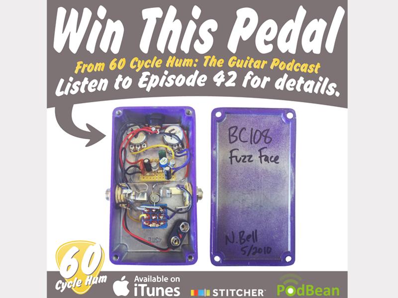 pedal contest 2 fuzz pedal guitar podcast