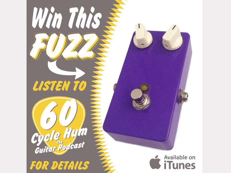 Fuzz 3 podcast fuzz pedal guitar purple