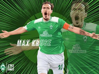 Max Kruse of Werder Bremen