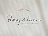 Reysha Monoline Font