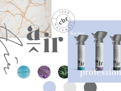 100% CBR Air graphic branding graphic design