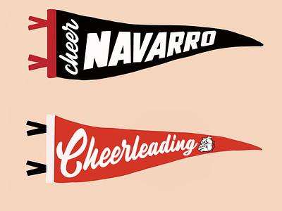 Nararro Cheer sports branding go sports sports navarro cheerleading navarro cheer cheerleading cheer fun project fun branding weekly warm up rebound design
