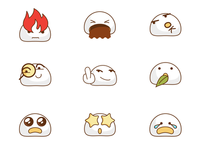 Food set emoji